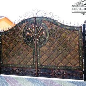 Ворота кованые откатные ВГК-35