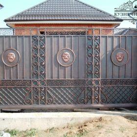 Ворота кованые откатные  ВГК-36