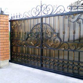 Ворота кованые откатные ВГК-37