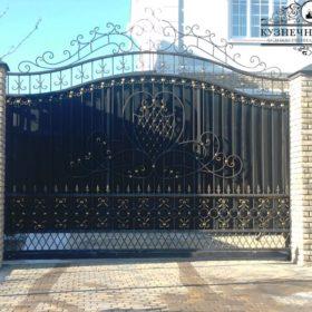 Ворота кованые откатные ВГК-39