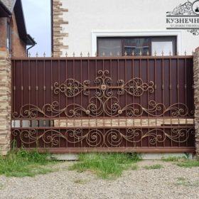 Ворота кованые откатные ВГК-40