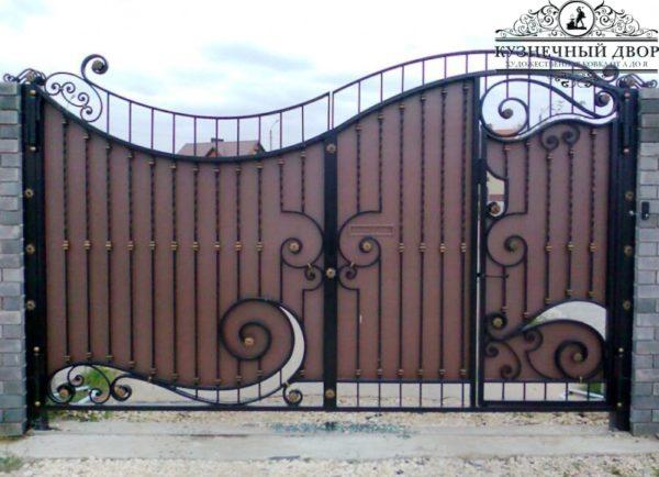 Ворота кованые ВГК-43
