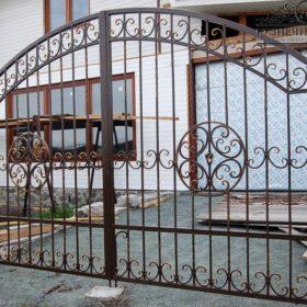 Ворота кованые ВГК-44