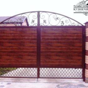 Ворота кованые ВГК-45