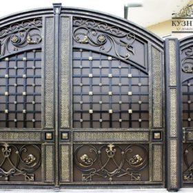 Ворота кованые ВГК-49
