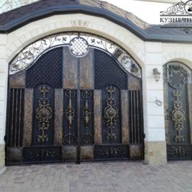 Ворота кованые ВГК-51
