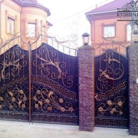 Ворота кованые ВГК-53
