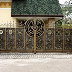 Ворота кованые ВГК-54