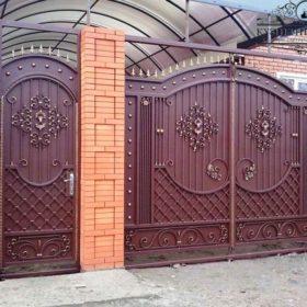 Ворота кованые ВГК-55