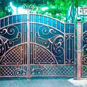 Ворота кованые ВГК-58