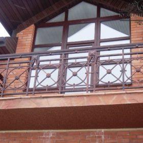 Балкон кованый БГК-22