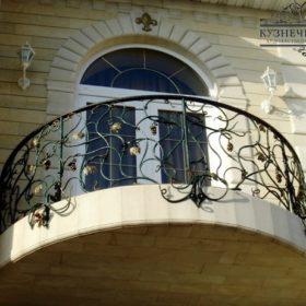 Балкон кованый БГК-23