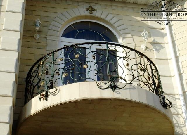 Кованые балконы Геленджик