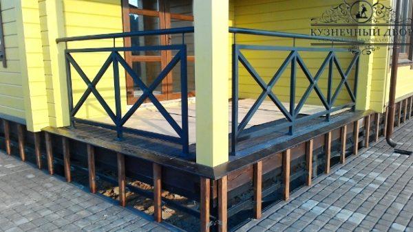 Балкон кованый БГК-24