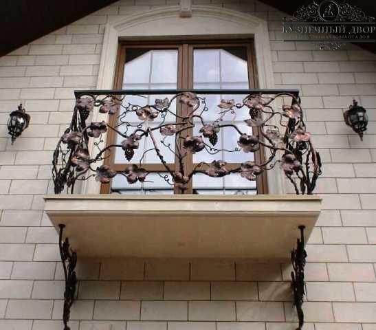 Балкон кованый БГК-27