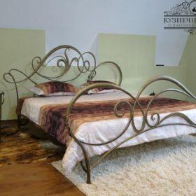 Кровать кованая КРГК-14