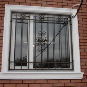 Решётки на окна кованые РГК-19
