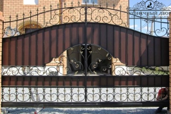 Ворота кованые ВГК-61