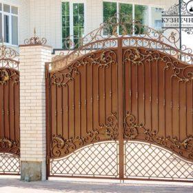 Ворота кованые ВГК-63