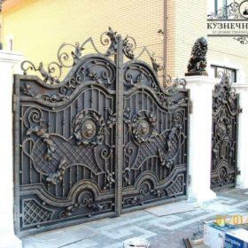 Ворота кованые ВГК-67