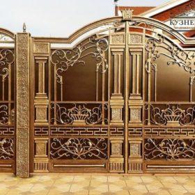 Ворота кованые распашные ВГК-69