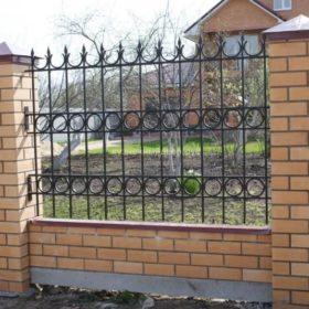 Забор кованый ЗГК-29