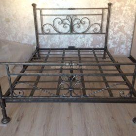 Кровать кованая КРГК-15