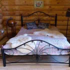 Кровать кованая КРГК-17