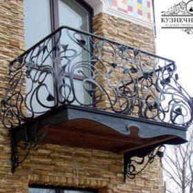 Балкон кованый БГК-31