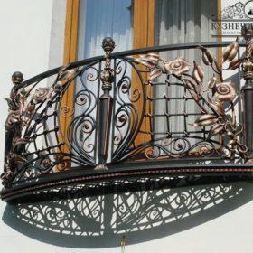 Балкон кованый БГК-32