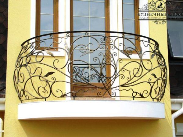 Балкон кованый БГК-33