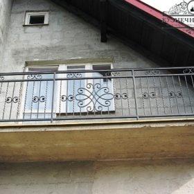 Балкон кованый БГК-35