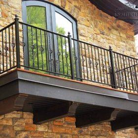 Балкон кованый БГК-36