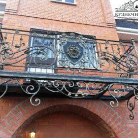 Балкон кованый БГК-37