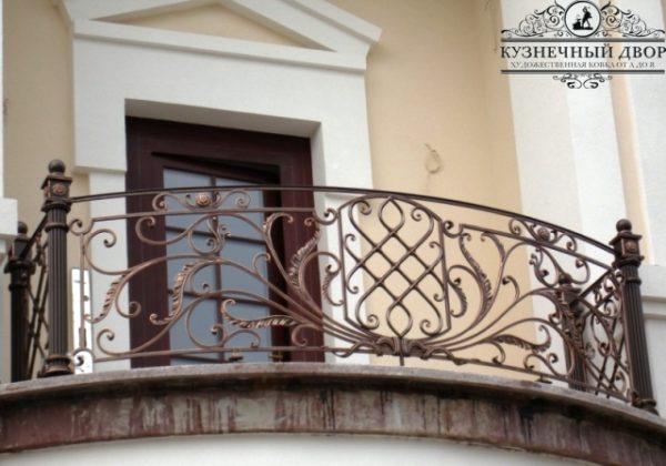Балкон кованый БГК-38