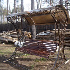 Качели кованые КЧГК-19