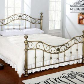 Кровать кованая КРГК-18