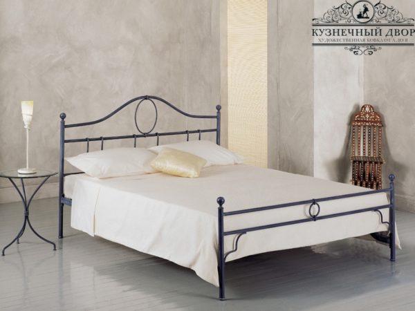 Кровать кованая КРГК-20