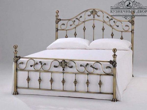 Кровать кованая КРГК-25