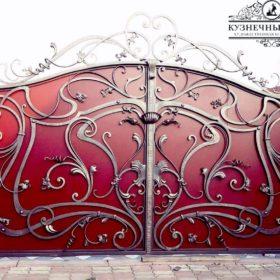 Ворота кованые распашные ВГК-75
