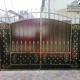 Ворота кованые распашные ВГК-76