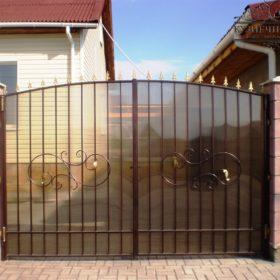 Ворота кованые распашные ВГК-83