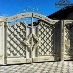 Ворота кованые распашные ВГК-84