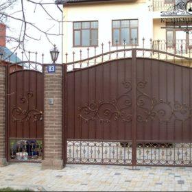 Ворота кованые ВГК-95