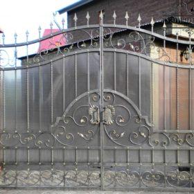 Ворота кованые распашные  ВГК-97