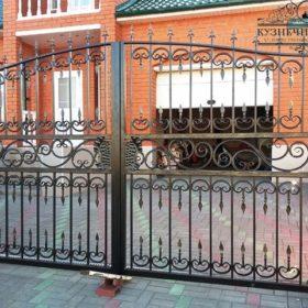 Ворота кованые ВХК-11
