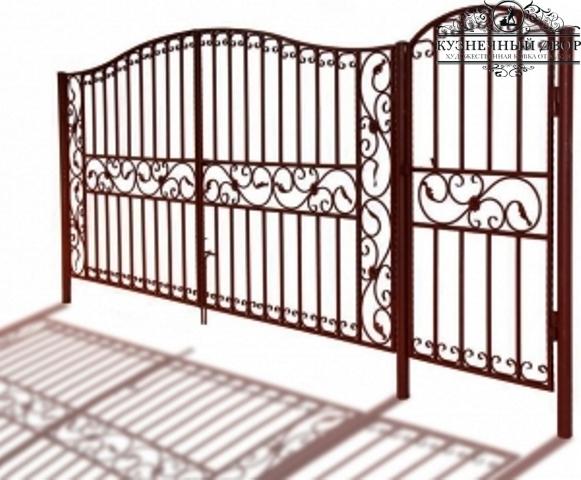 Ворота кованые ВХК-12