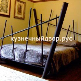 Кровать кованая КРГК-27