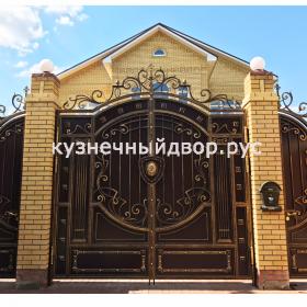 Ворота кованые распашные ВГК-98
