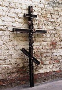 Крест кованый-10